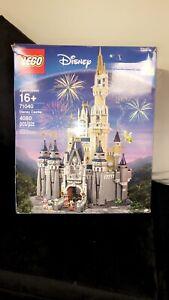 LEGO Disney Princess The Disney Castle (71040) box has Dents product is brandnew