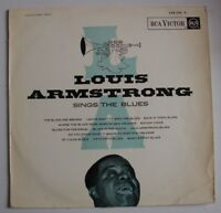 LOUIS ARMSTRONG - Sings The Blues - LP - RCA Victor - 430 205 S - Jazz - France
