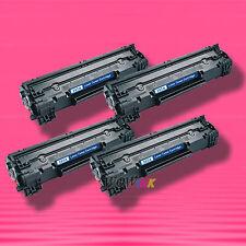 4 Non-OEM Alternative TONER for HP CE285A 85A LaserJet P1102 P1102w P1109w M1130