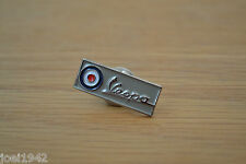 MOD - SCOOTER  - VESPA ROUNDEL - TARGET SQAURE ENAMEL PIN BADGE . BRAND NEW