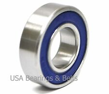 (Qty 2)6004-2RS Premium Ball Bearings 20x42x12 6004 RS, ABEC3C3/EMQ Grease (I)