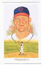 Bob Lemon Perez Steele Postcard