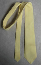 NEW BOYS HORTEX IRELAND VINTAGE TIE MOD CASUAL 70'S 80'S AGE 4-10 CREAM YELLOW