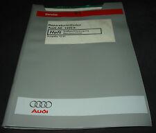 Werkstatthandbuch Audi A6 Typ C5 4B Kraftstoffversorgung Benzin Motoren 12/1997!