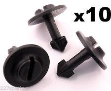 10x Audi Plastic Twist Bolt Clip Pin- Engine Undertray Splashshield Arch Lining