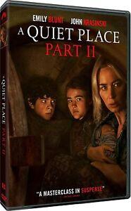 A Quiet Place: Part II - Drama Horror Sci-Fi (2021) DVD