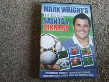 Mark Wright's Football saints and sinners (DVD, 2012) new and sealed freepost