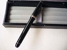 [Soft Fine nib] Pilot NAMIKI Custom 74 Fountain Pen Black #5 14K SF New Japan