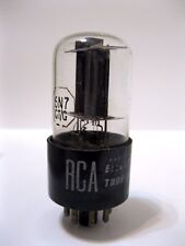 Rca 6N7 Gt/G (Usa) Clear Glass Vacuum Tube - April 1956 - Tests Strong