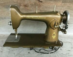 THE FREE SEWING MACHINE Company WESTINGHOUSE ELECTRIC Type E Rockford Illinois