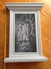 Chelsea Notice Message Board Kitchen Chalk Bespoke Hand Crafted Shabby Chic 58cm