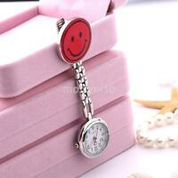 Newest Butterfly Nurse Clip-on Fob Brooch Pendant Hanging Pocket Watch Fobwatch