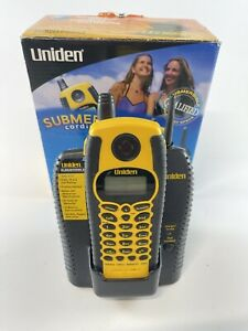 Uniden WXI-377 Water-Resistant Submersible Cordless TelePhone - Open Box