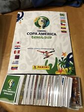 2019 PANINI COPA AMERICA COMPLETE STICKER SET + EMPTY ALBUM USA EDITION RARE