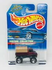 Hot Wheels 2000 Virtual Collection - 1990 MERCEDES BENZ UNIMOG - MI Malaysia