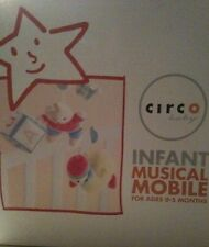 Nib Circo Musical Crib Mobile Denim Buddies Newborn Nursery Baby Unisex