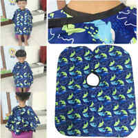 Child Kids Hairdresser Hair Cutting Barber Cape Haircut Apron Clothes Waterproof