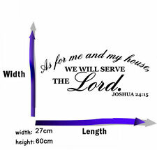 Bible Verse Wall Decals Word Vinyl Removable Sticker Quote Inspiration Art