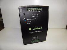 Wieland Power Supply 24Volt 10Amp Wipos P1 24-10