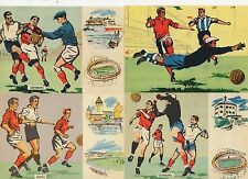 1958 World Cup Soviet Union USSR Austria Boras Sweden 11June postcard