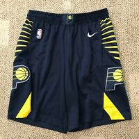 Mens Nike Dry NBA Basketball Shorts Blue Size Large (38) Indiana Pacers