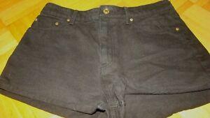 Mango  Jeans Short Gr 38 Schwarz