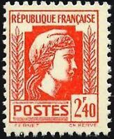 """FRANCE STAMP TIMBRE N° 641 """" MARIANNE D'ALGER 2F40 """" NEUF xx LUXE"""
