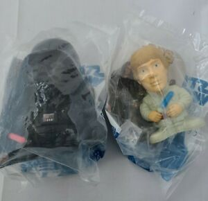 HTF NIP Burger King Star Wars Revenge Of The Sith Luke Skywalker Darth Vader