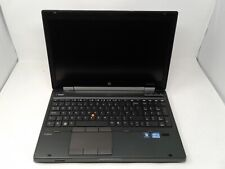 "HP EliteBook 8570W 15.6"" INTEL CORE i5 3RD GEN 12GB RAM 750GB HDD WINDOWS 10"