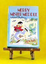 Merry Mister Meddle  Enid Blyton Rewards #28 very good used illustrated hardback