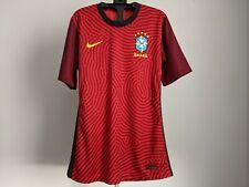 Nike Brazil CBF 2020 Player Issue Goalkeeper Soccer Football Jersey M CD8306-657