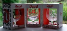 ♦Duvel SET 3 verre DUVEL + Box Duvel glas SET x 3 + DOOSJE limited edition ♦
