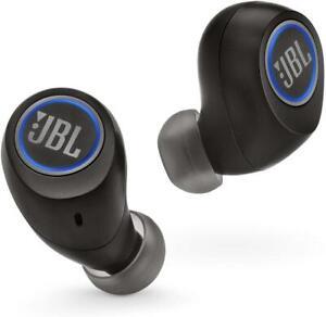 JBL Free X In Ear Kopfhörer Ohrhörer Headset Bluetooth kabellos Schwarz