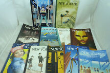 THE NEW YORKER Back Issue Magazine LOT 2015 2016 2017 New York Magazines
