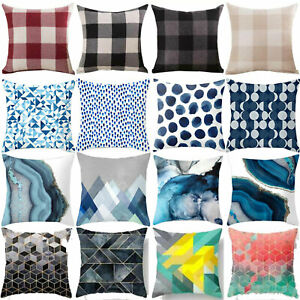 Cushion COVER Soft Home Art Bed Car Decoration Abstract Throw Pillow Case New
