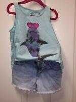 Gymboree Girls Outfit/Set Top (Size 5-6), Shorts (Size 5)