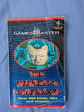 GAMESMASTER: The Winner's Handbook Over 250 hints,tips andcheats! VERY RARE!