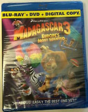 Madagascar 3: Europe's Most Wanted, 2 Disc Digital Copy [BluRay/DVD/Digital]