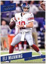 Tarjeta de Topps Chrome fútbol 2014 veterano #93 Eli Manning-New York Giants