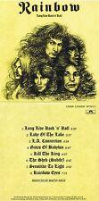 """Rainbow """"Long live Rock´n´Roll"""" Werk von 1978, mit acht Songs! Nagelneue CD!"""
