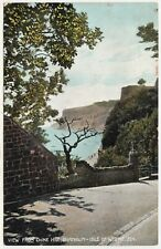 ISLE OF WIGHT - Shanklin - View From Chine Hill - #524 - 1917 used postcard