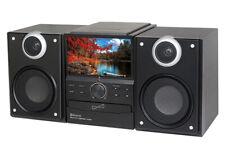 SuperSonic SC-857D HI FI Audio Micro System W Bluetooth DVD Player USB SD AUX
