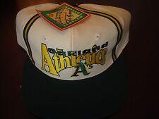 OAKLAND A'S THE GAME 1993 COLLEC RARE SCRIPT NEW VINTAGE 90'S HAT CAP  SNAPBACK