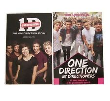 ONE DIRECTION  BY DIRECTIONERS / ONE DIRECTION UNAUTHORISED STORY - BOOKS