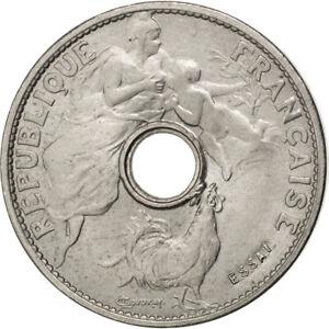 [#81241] Monnaie, France, 25 Centimes, 1913, SUP+, Nickel, Gadoury:370b