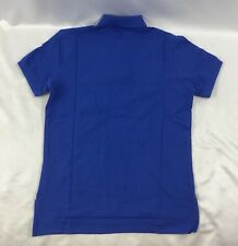 Ralph Lauren Men Custom Fit Polo Shirt Yacht Team 1st Class Blue Size M