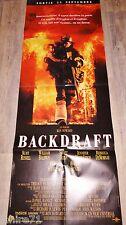 BACKDRAFT   !  affiche cinema  pompier