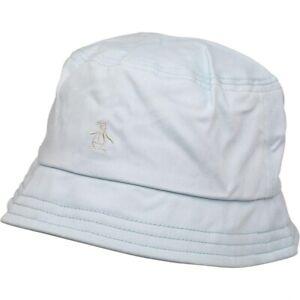 Penguin Mens Bucket Hat Pale Blue RRP £22 (J20)