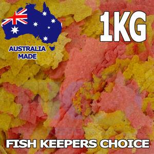 Fish Keepers Choice Goldfish KOI Flake Aquarium & Pond Food Feed Flakes 1KG