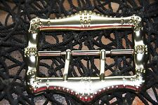 Captain Teague Pirate Belt Buckle from the Pirates of the Carribean -Round Brass
